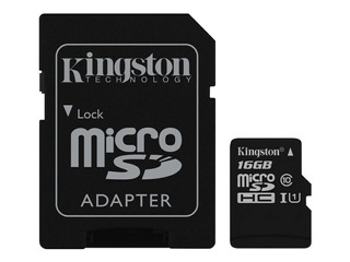 Memoria 16g Kingston Microsdhc Canvas Select