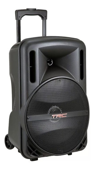 Caixa De Som Amplificada Trc 336 Bluetooth 290 W