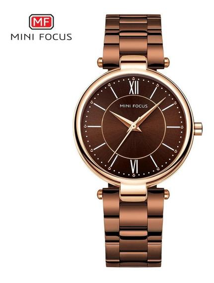 Relógio Feminino Mini Focus Mf0189l Original Com Caixa