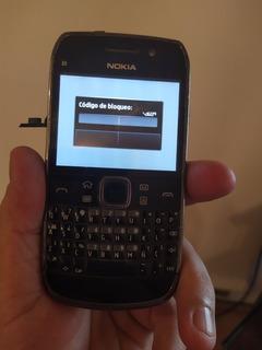 Celular Nokia E6 Color Negro . Bloqueado