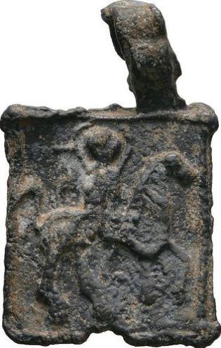 Raro Adereço De Liderança Das Cruzadas! De 1200-1300 Dc