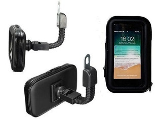 Suporte P/ Gps Celular Smartphone Burgman 125 Lead 110 Biz