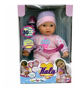 Muñeca Bebe Kala La Que Graba Y Reproduce Original La Le Lu