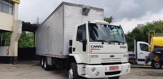 Ford Cargo 2422e 2009 Baú
