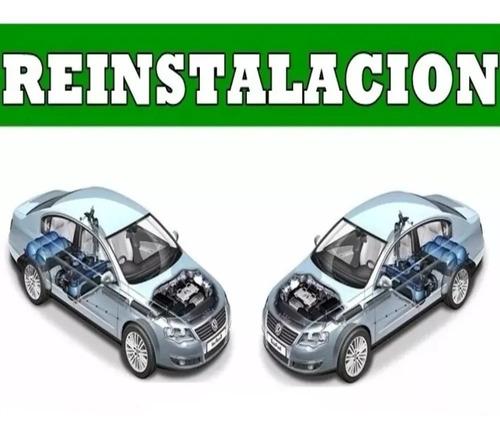 Equipo Gnc 5ta Gene De 60lts Reinstalacion De Auto A Auto