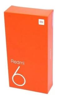Celular Xiaomi Redmi 6 64gb 4gb Rom Global Dual + Película