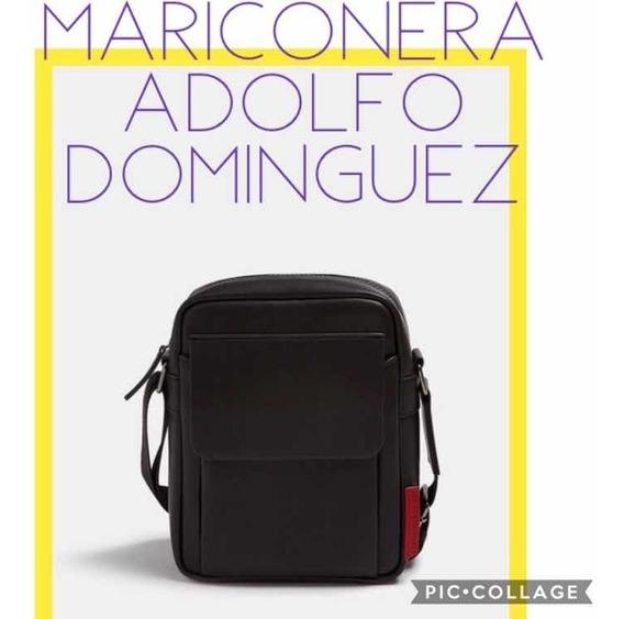 código promocional cd8eb 74772 Adolfo Dominguez Hombre - Bandoleras y Portafolios ...