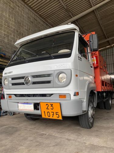 Caminhão Vw 8150 /volkswagem 8-150 / Plataforma Gas/ Munck