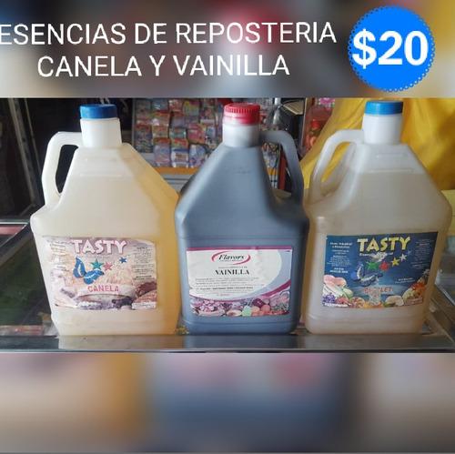 Esencias De Reposteria Canela Y Vainilla