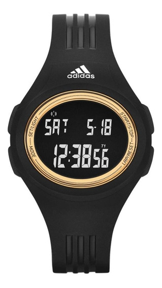 Relógio adidas Performance Adp3158/8pn 42mm Silicone Preto