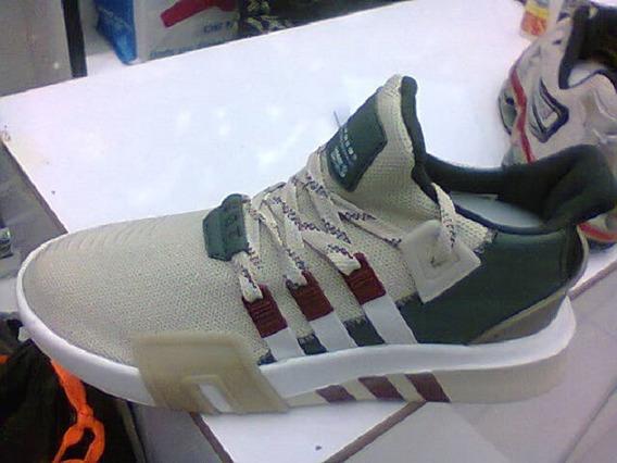 Tenis adidas Eqt Basquete Verde/bege E Vinho Nº42 Original