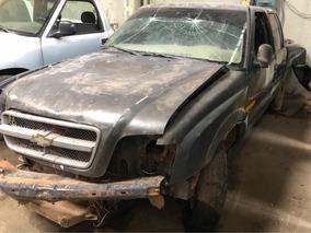 Chevrolet S10 No Electrónica - Chocada, Con Faltantes