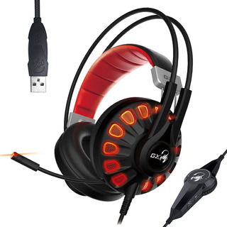 Diadema Genius Gx Gaming Lychas Hs-g680 / Sonido 7.1 Canales