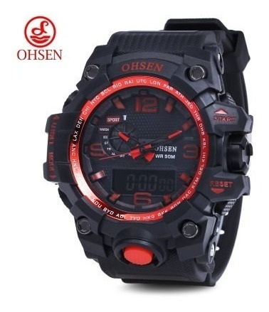 Oshen Ad1606 Quartz Digital 5 Atm Watch Promoção