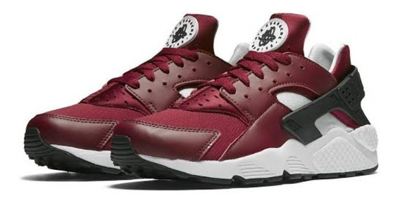 Tênis Nike Air Huarache Team Red / Black - 100% Original