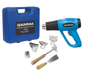 Soprador Térmico 110v 1.500w 300/550°c C/ Kit G1935k Gamma