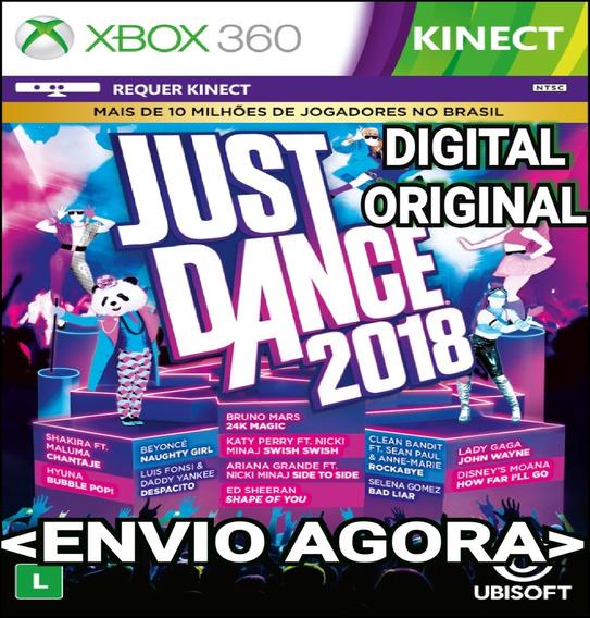 Just Dance 2018 Xbox 360 Mídia Digital Original Imediato