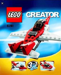 Lego Creator 3 En 1 Jet 6741