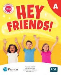 Hey Friends Starter A - Pupil´s Book And Workbook - Pearson