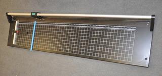 Guillotina Cortadora Papel Rotativa Cizalla 60 Cm Metalica