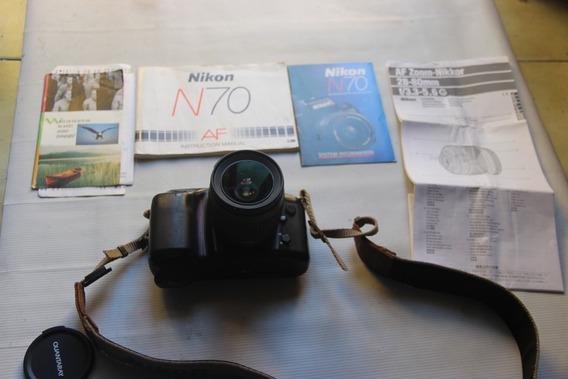 Máquina Fotográfica Analógica Nikon N70