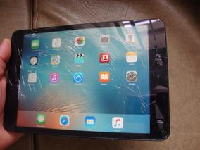 iPad Mini 1 32gb Model A1432 - Ios 9.3.5 - Tela Trincada