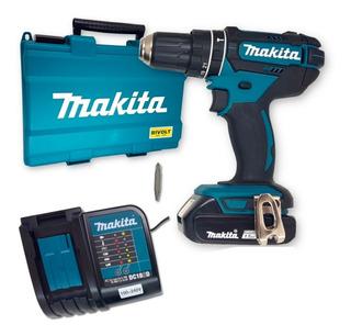 Furadeira Parafusadeira Impacto Bateria 18v Makita Dhp482sy.