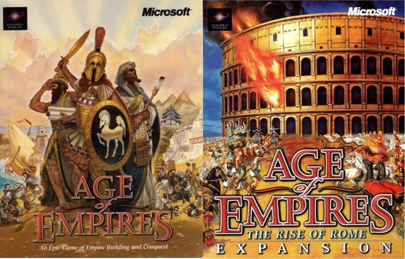 Age Of Empires + The Rise Of Rome Pc Digital