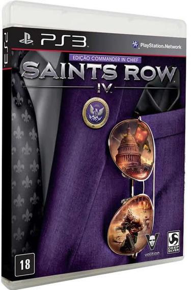 Saints Row Iv: Commander In Chief Edition - [ps3] Lacrado