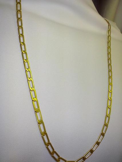 Corrente Cordao Ouro Folheado 18k Homem Moda Top Quality
