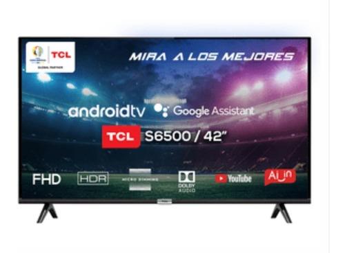 Imagen 1 de 5 de Tv Smartv Android Tcl 42 Pulgadas Full Hd