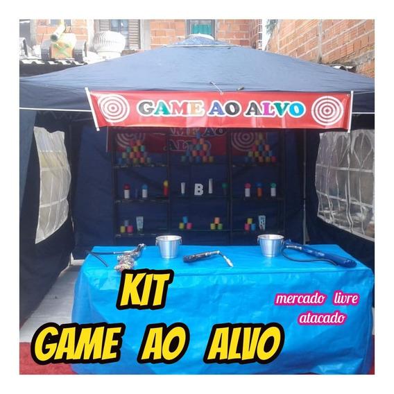 Game (tiro)ao Alvo Kit Completo Para Vc Trabalhar Alugar