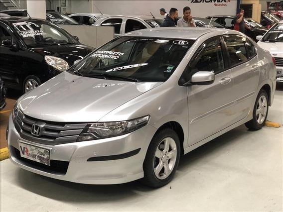 Honda City 1.5 Lx Flex Automático + Bancos Couro