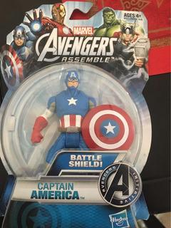 Muñeco Capitán América. Hasbro
