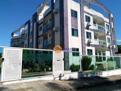 Maravilhoso Apartamento Com 2 Dormitórios À Venda, 72 M² Por R$ 255.000 - Costazul - Rio Das Ostras/rj - Ap0586