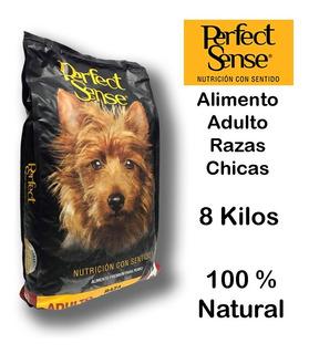Alimento Perro Premium Perfect Sense Adulto Raza Chica 8 Kg