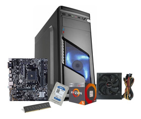 Pc Gamer Completo Ryzen 5 2400g 8gb 1tb Fonte 500w