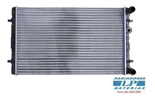 Imagem 1 de 2 de Radiador Golf 99 A 06 +/- Ac / Bora 00/  Audi A3 1.6/1.8