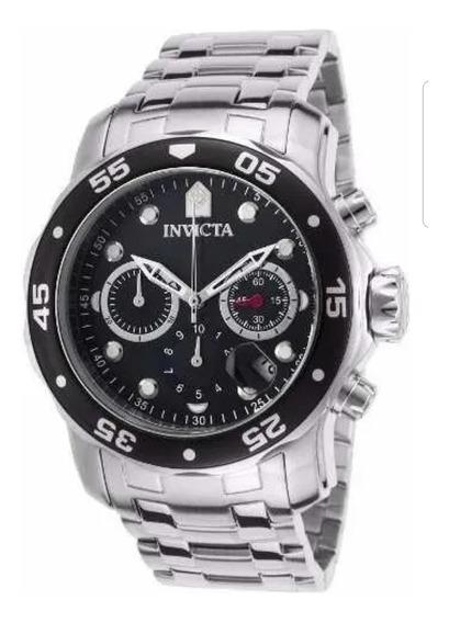 Relógio Invicta 0069 Pro Diver Masculino Completo