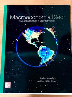 Libro Macroeconomía Samuelson Y Nordhaus 19 Edición Nuevo