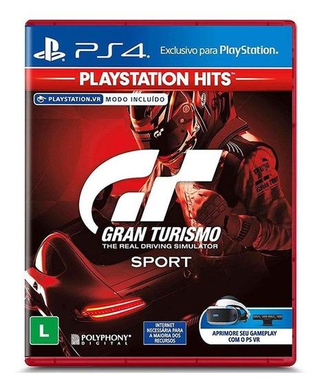 Jogo - Gran Turismo Sport - Ps4 - Playstation 4 - Promoção