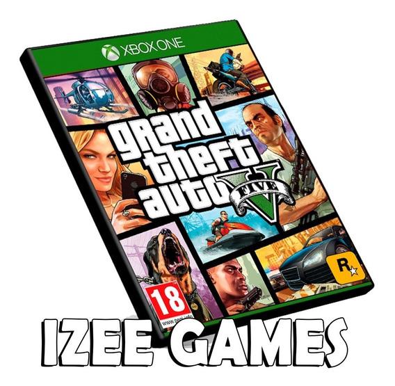 Gta 5 Xbox One Midia Digital + 1 Jogo Grátis