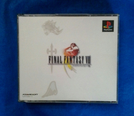 Final Fantasy Viii Playstation 1 Original Frete 15