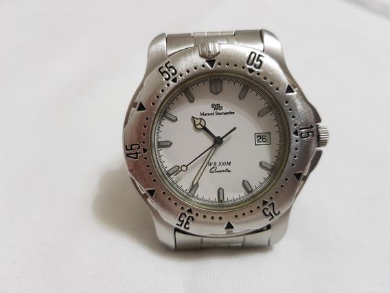 Relógio Masculino Manoel Bernardes Funcionamento Perfeito