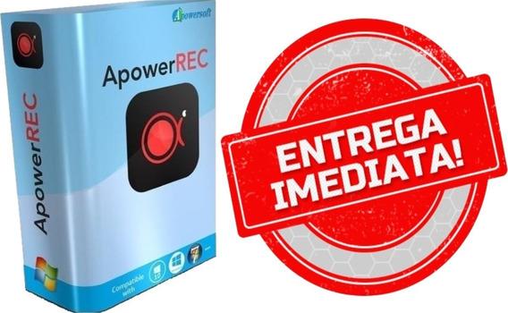 Gravador De Tela - Apowerrec Em Português / Versão 2020