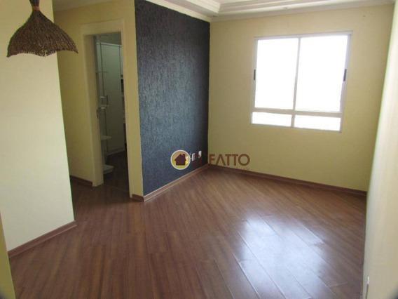Apartamento Com 2 Dormitórios Para Alugar, 45 M² Por R$ 1.100,00/mês - Ponte Grande - Guarulhos/sp - Ap2053