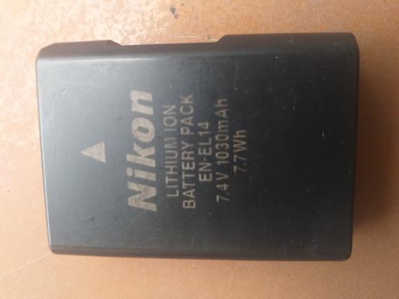 Bateria Nikon En-el 14 Original Camara Foto Excelente Estado
