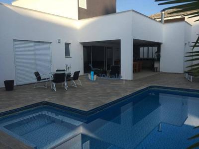 Linda Casa Térrea Com 3 Dormitórios À Venda, 380 M² Por R$ 1.600.000 - Residencial Santa Helena - Caçapava/sp - Ca1217