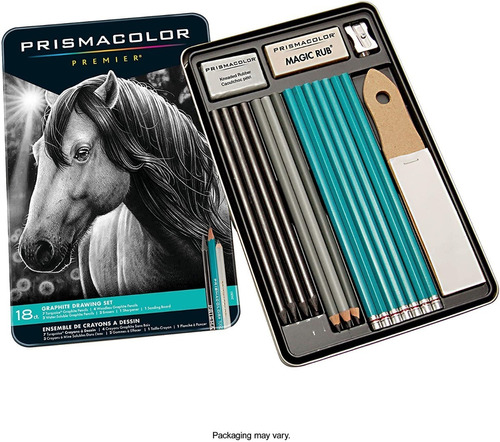 Lapices Prismacolor Premier Graphite 18 Piece Set / Grafito