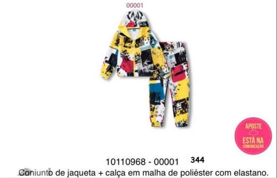 Conjunto Jaqueta E Calça Lilica Ripilica 10110968